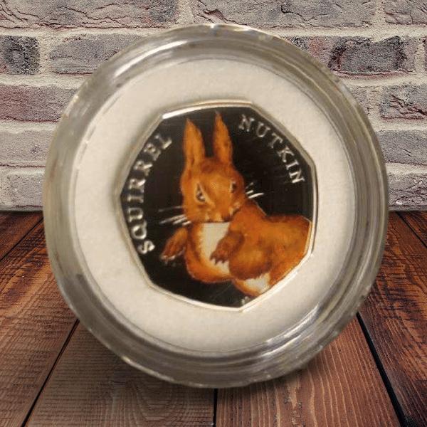 Squirrel Nutkin 50p