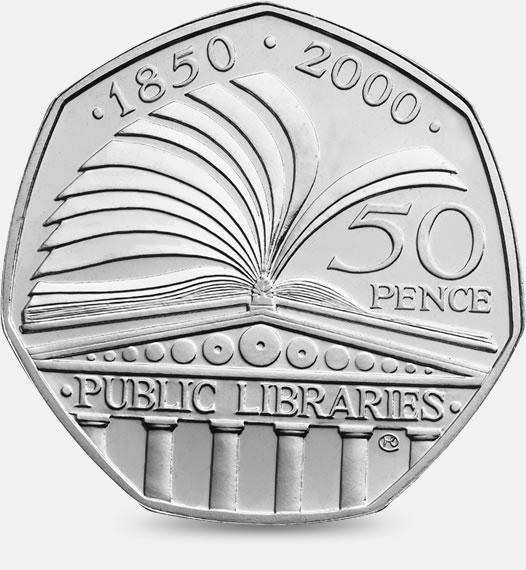 public libraries 50p