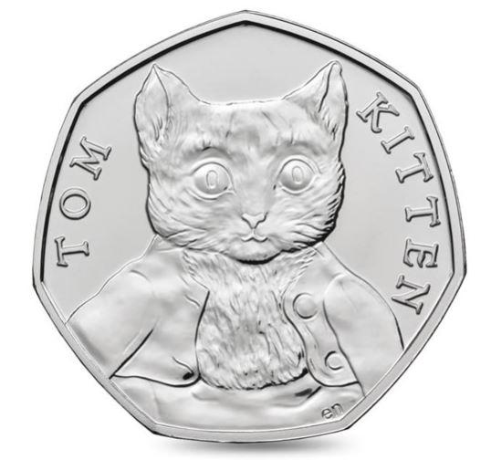 Tom Kitten 50p