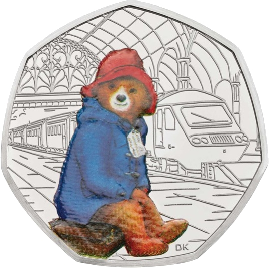 Paddington at the Station 50p