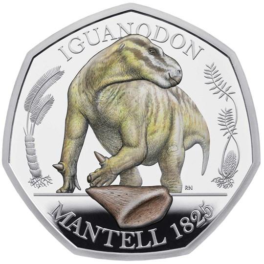Iguanodon 50p