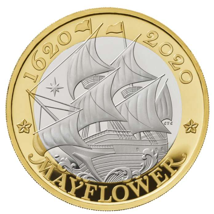 Mayflower Coin 2020