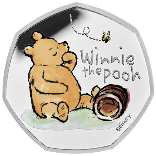 Winnie The Pooh 50p