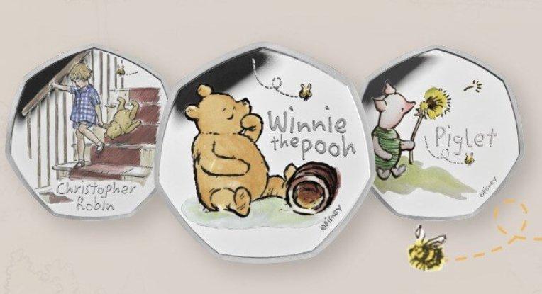 2020 Winnie The Pooh 50p coins