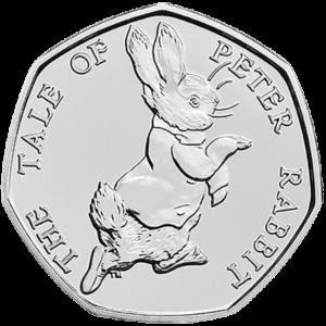 2017 Peter Rabbit 50p