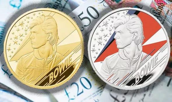 David Bowie Coins