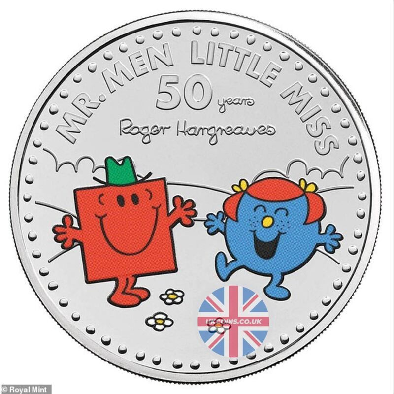 Little Miss Giggles Mr. Strong Coin