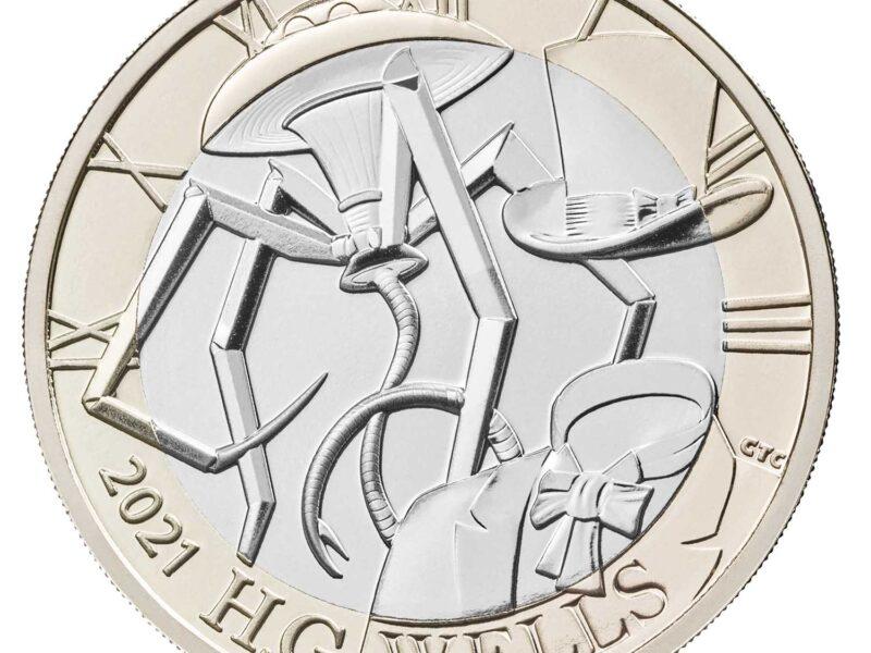 HG Wells Coin