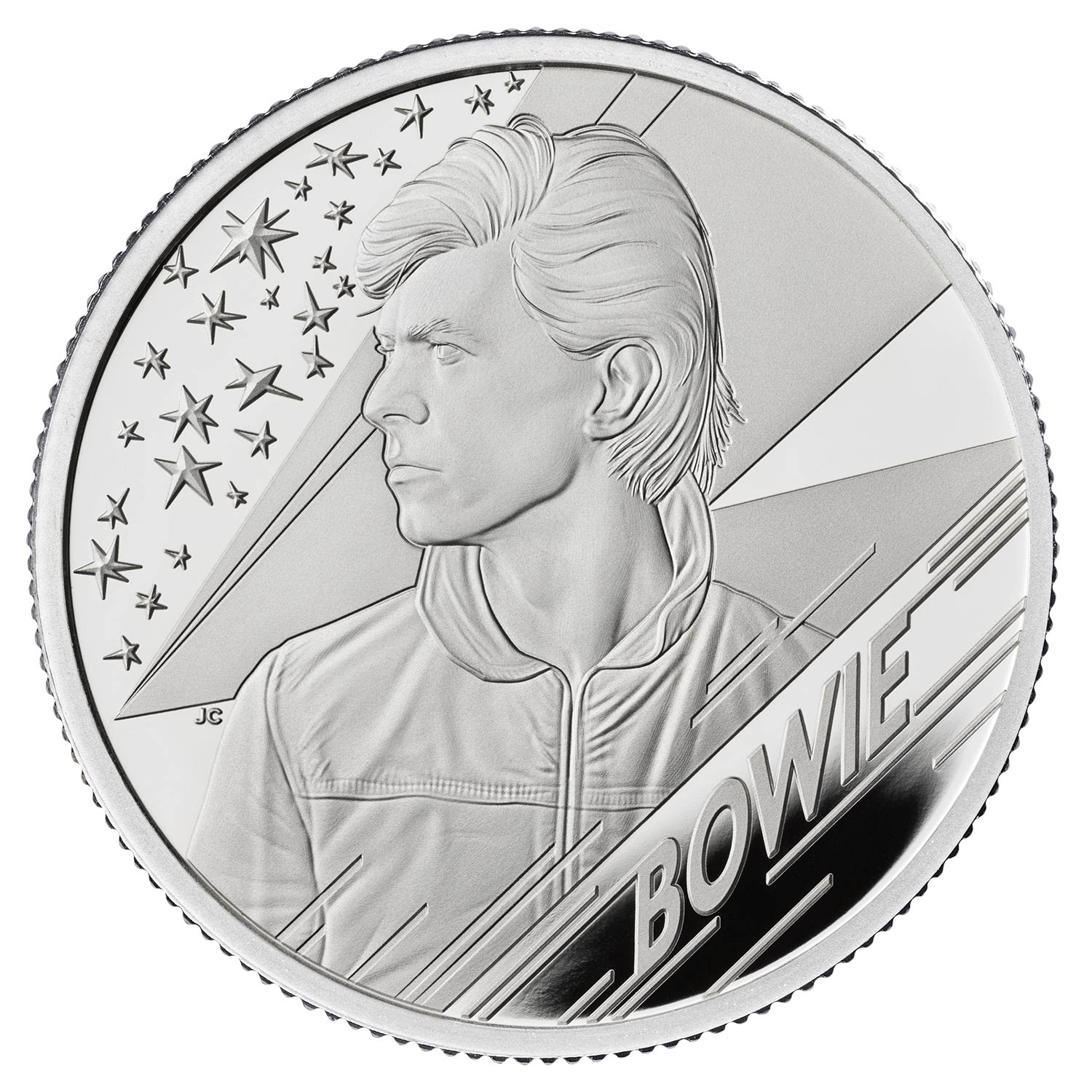 David Bowie Half-Ounce Silver Proof Coin