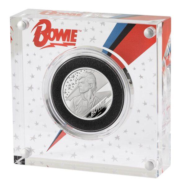 David Bowie Silver Coin