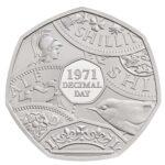 Decimal Day 50p Brilliant Uncirculated Coin