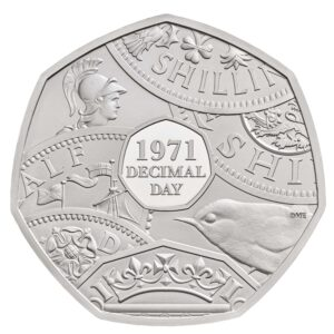 Decimal Day 50p Brilliant Uncirculated Coin
