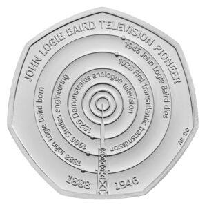 John Logie Baird Coin