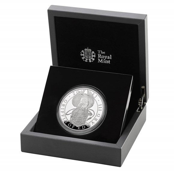 Five Ounce Silver Proof Coin