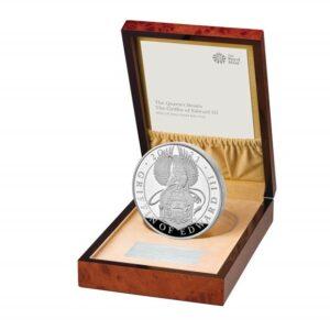 Silver Proof Kilo Coin