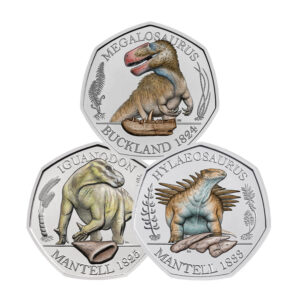 Dinosauria Coin Collection - 3 Coin Series