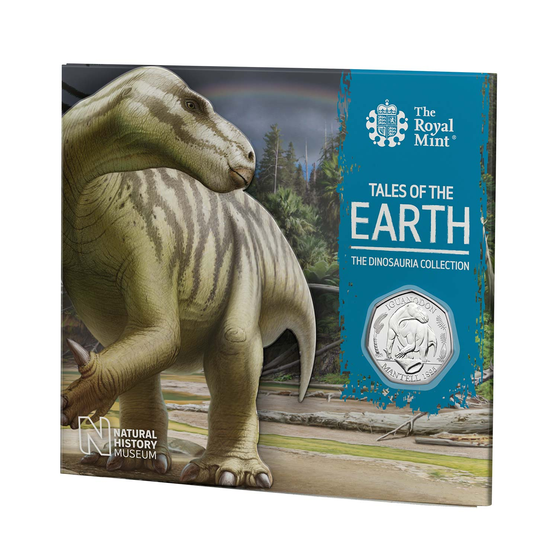 Iguanodon 50p Brilliant Uncirculated coin