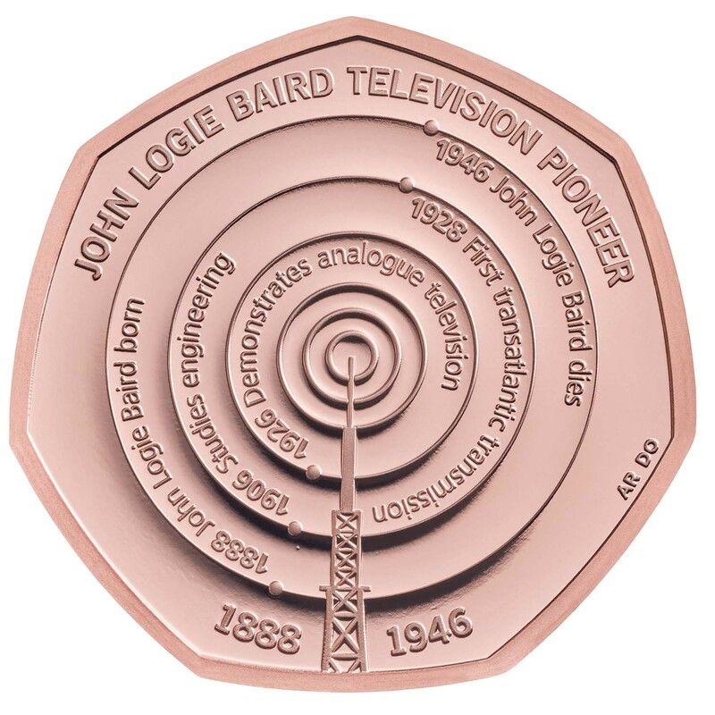 John Logie Baird Gold Coin