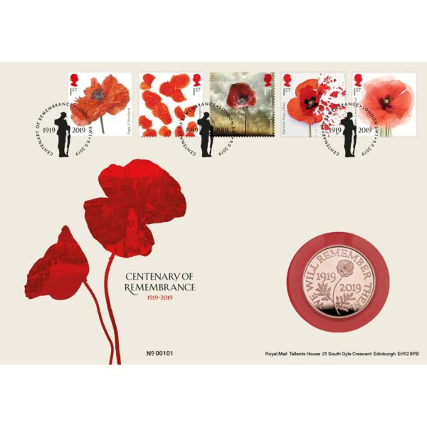 remembrance gold fdc