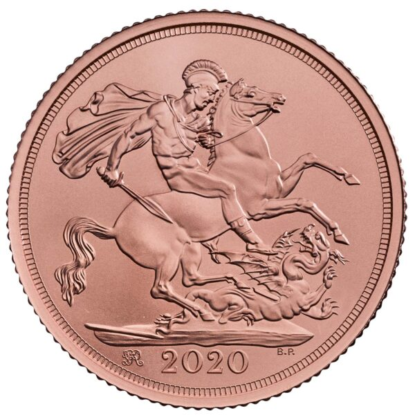 the sovereign 2020 gold brilliant uncirculated coin   sv20bu