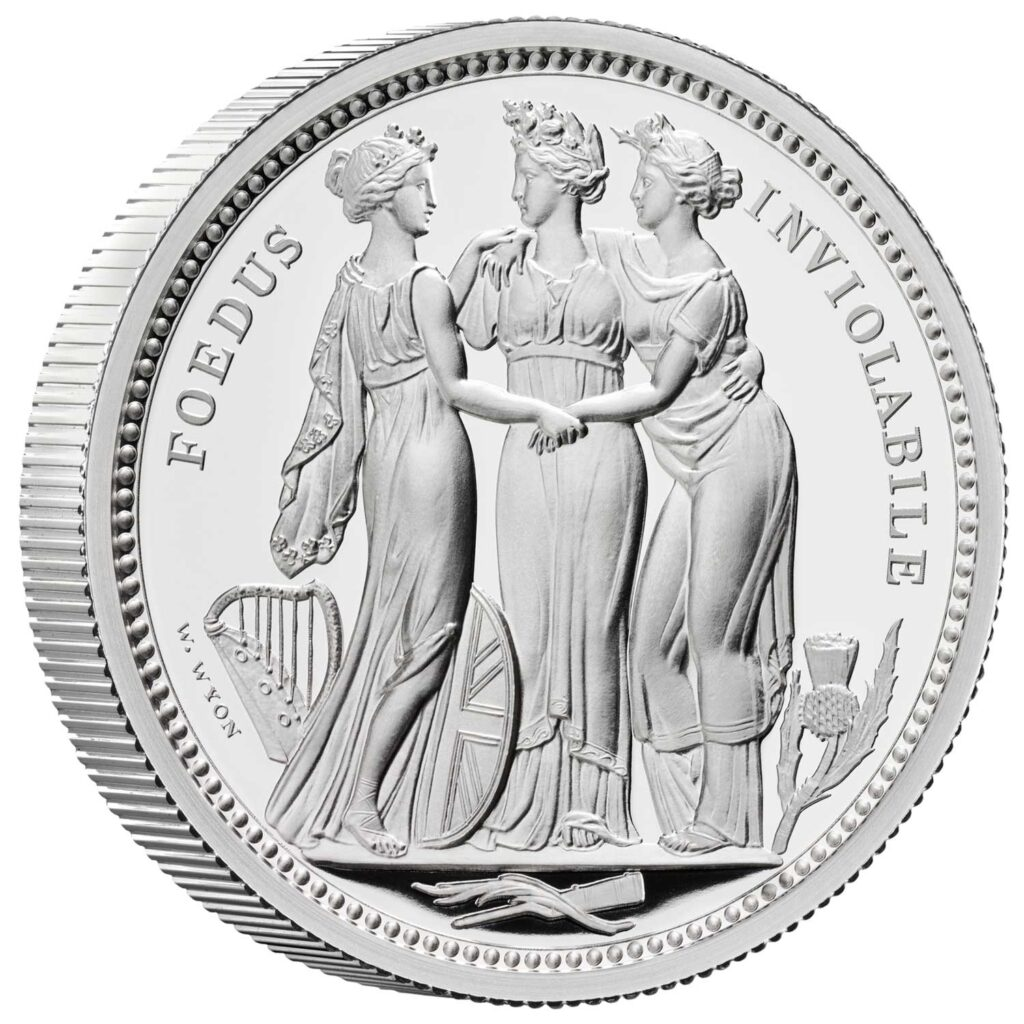 Three Graces Silver Proof