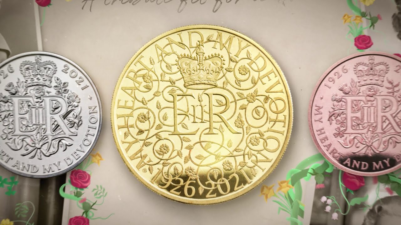 95th Birthday Of The Queen coins