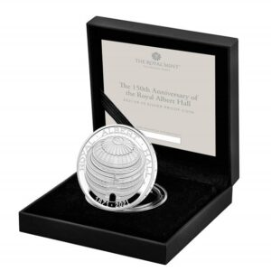The 150th Anniversary of the Royal Albert Hall 2021 UK £5 Silver Proof Coin