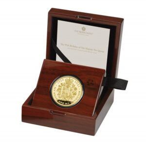 The 95th Birthday of Her Majesty The Queen 2021 UK Gold Proof Two-Ounce Coin