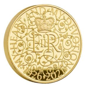 The 95th Birthday of Her Majesty the Queen 2021 Gold Proof Five-Ounce Coin