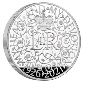 The 95th Birthday of Her Majesty the Queen 2021 Silver Proof Kilo Coin