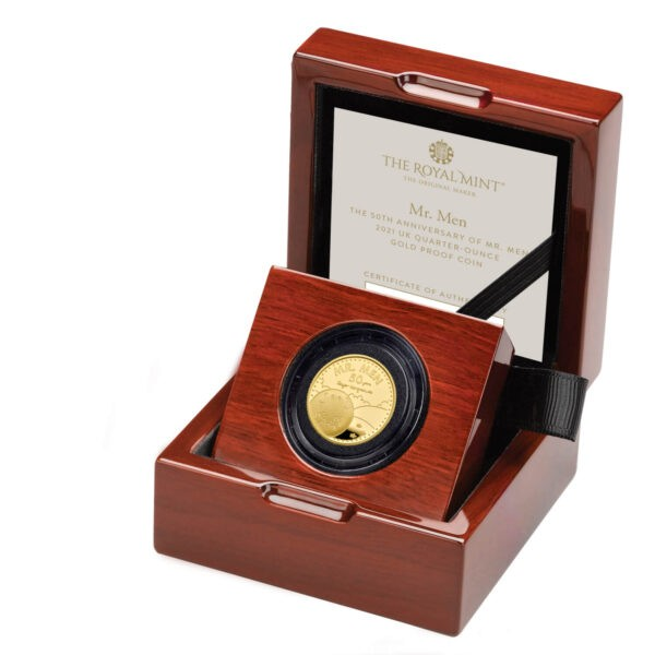 Mr. Happy Quarter-Ounce Gold Proof Coin