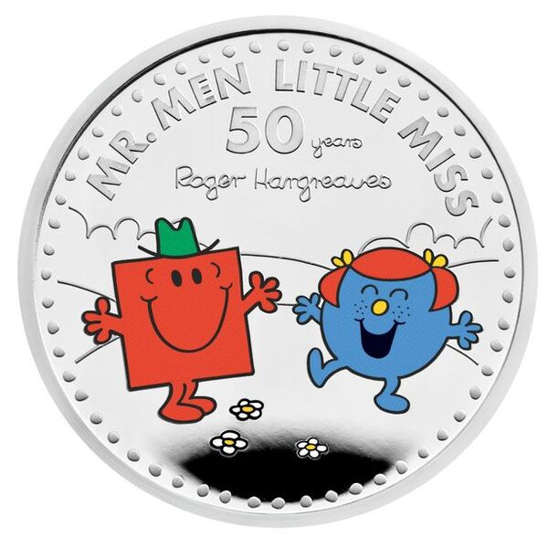 Mr. Strong & Little Miss Giggles Coins