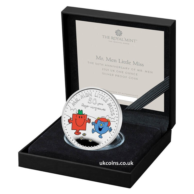 Mr. Strong & Little Miss Giggles One Ounce Silver Proof