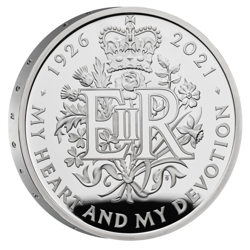 The Queen 2021 £5 Silver Proof Coin