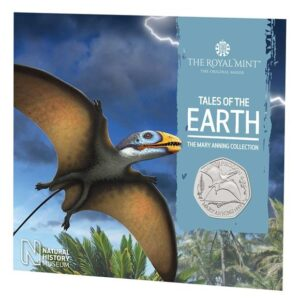 Dimorphodon 2021 UK Brilliant Uncirculated 50p Coin