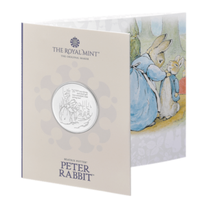 Peter Rabbit £5 Brilliant Uncirculated Coin