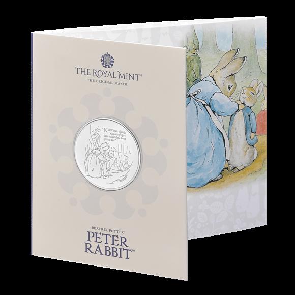 Peter Rabbit £5 Brilliant Uncirculated Coin