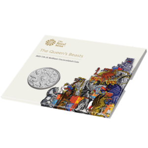 The Queen's Beasts 2021 UK £5 Brilliant Uncirculated Coin
