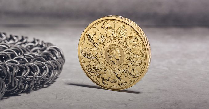 The Queen's Beasts 2021 Completer Coins