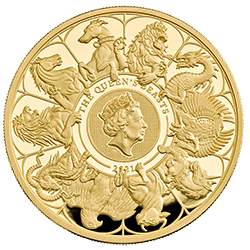 Queen's Beasts 2021 Completer Coins