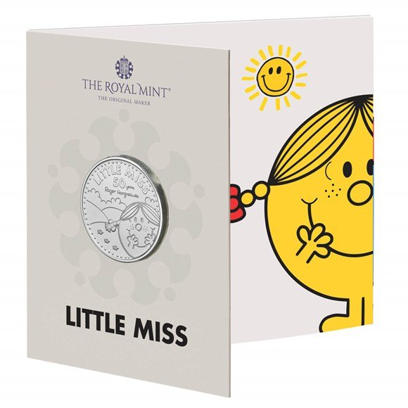 Little Miss Sunshine £5 Brilliant Uncirculated Coin