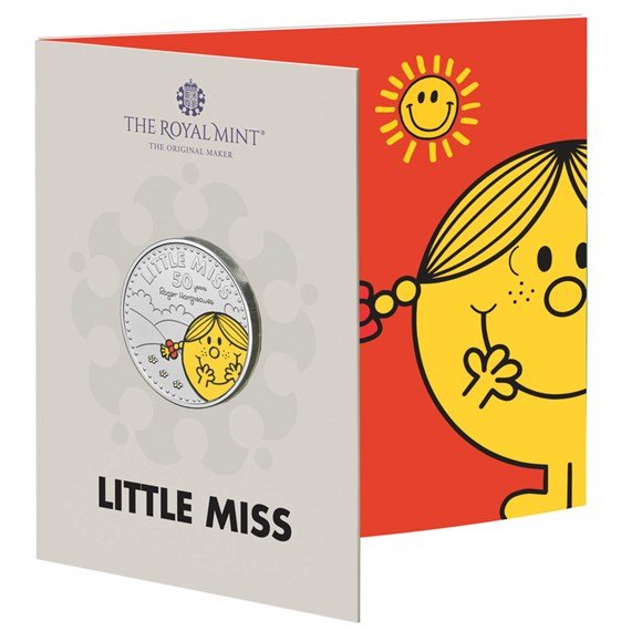 Little Miss Sunshine £5 Brilliant Uncirculated Coloured Coin