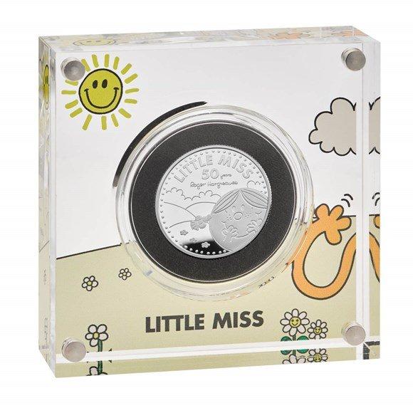 Little Miss Sunshine Half-Ounce Silver Proof Coin