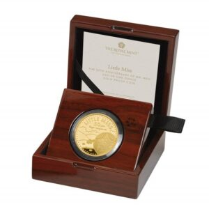 Little Miss Sunshine One Ounce Gold Proof Coin
