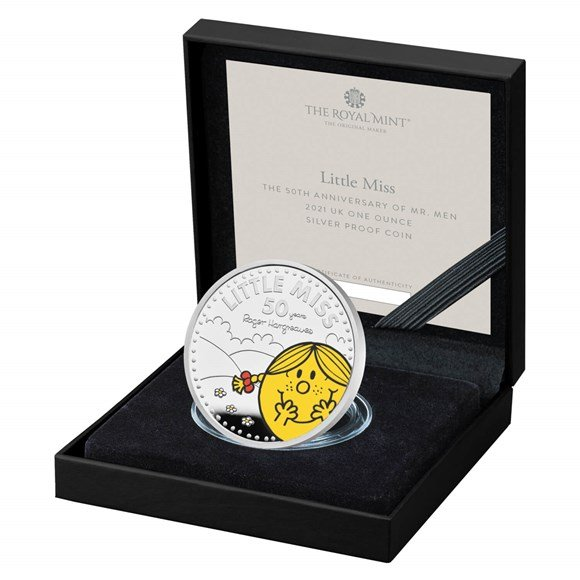 Little Miss Sunshine One Ounce Silver Proof Coin