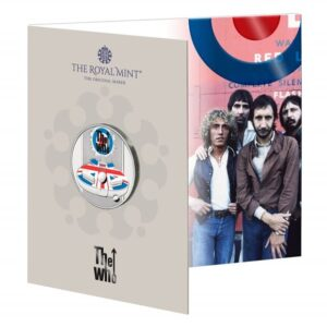 The Who £5 Brilliant Uncirculated Coloured Coin