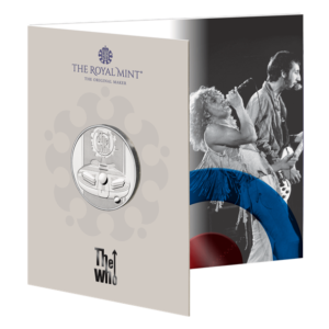 The Who £5 Coin
