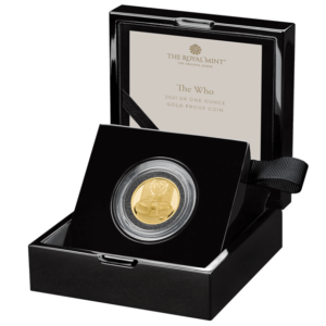 The Who One Ounce Gold Proof Coin
