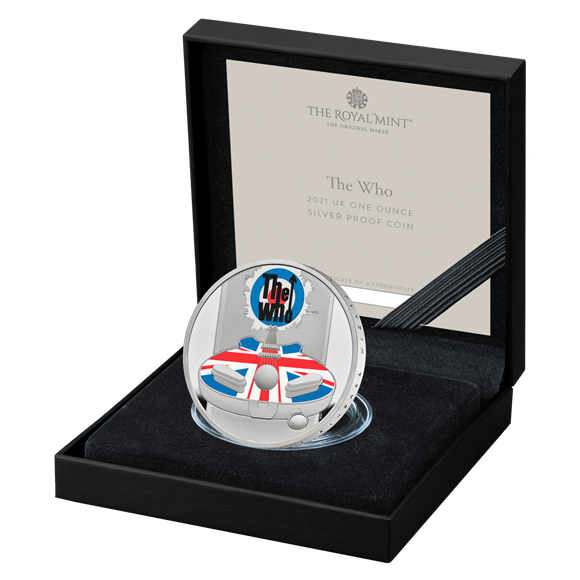 The Who One Ounce Silver Proof Coin