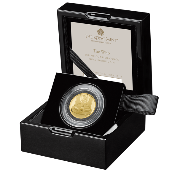 The Who Quarter-Ounce Gold Proof Coin